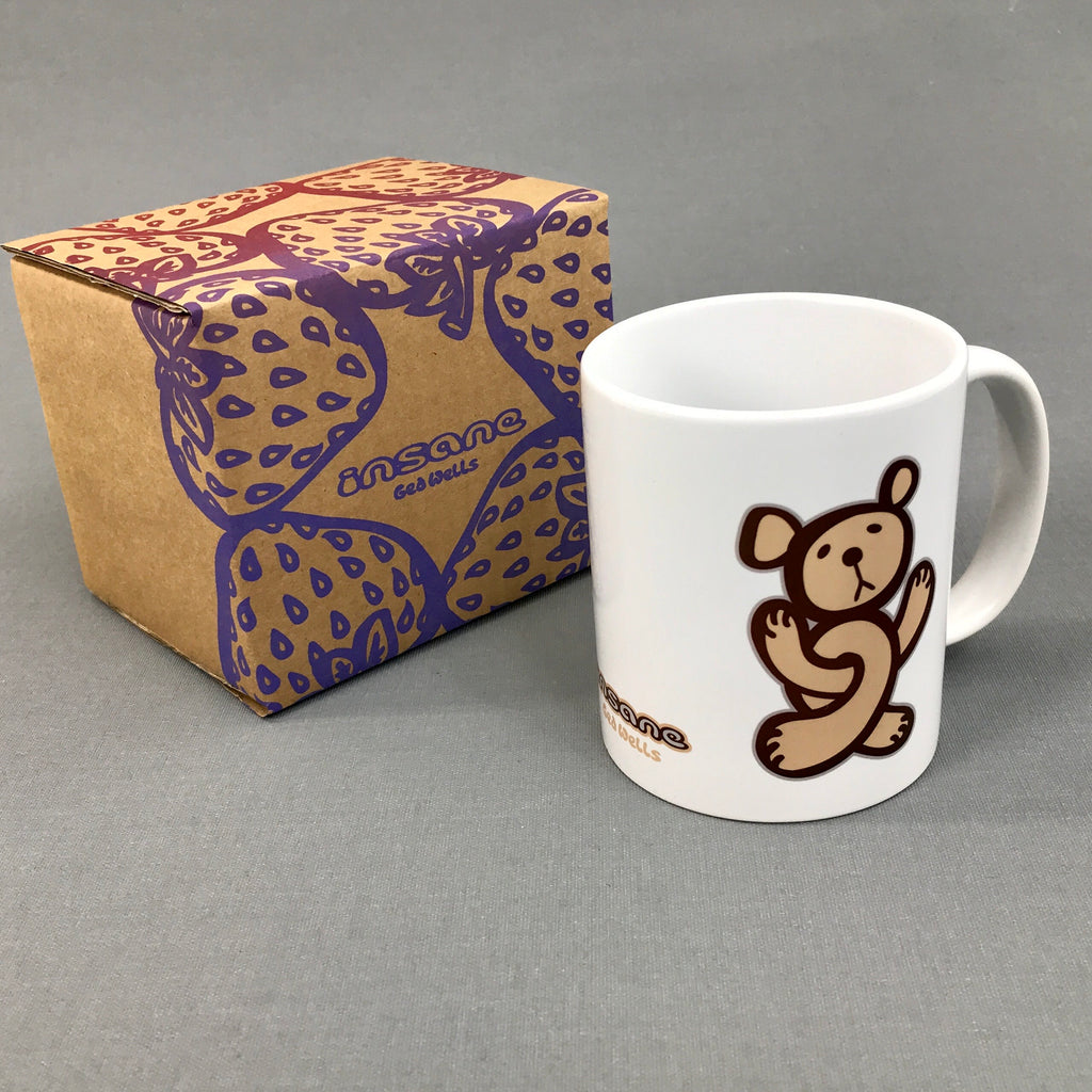 Twisted Teddy ceramic mug