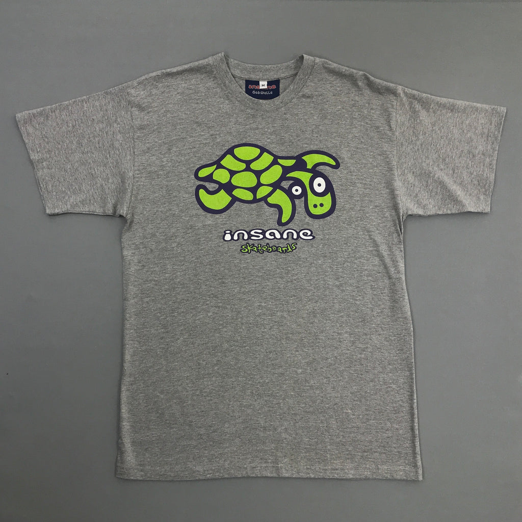 Insane Turtle Ash Grey T-Shirt