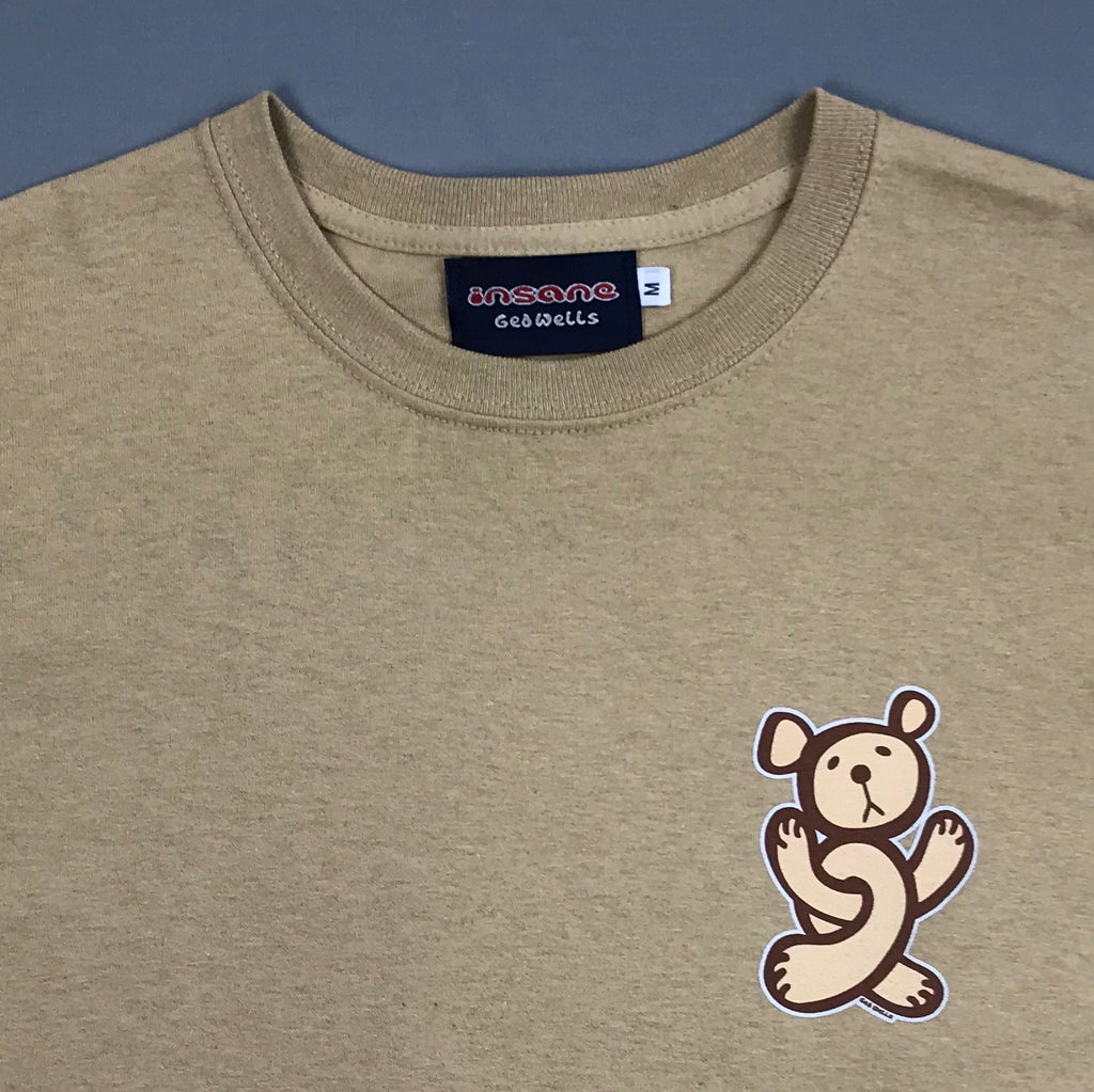 Insane Twisted Teddy Tan T-Shirt