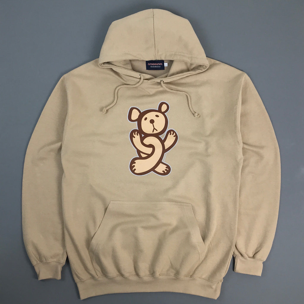 Twisted Teddy Beige Hooded Sweat.