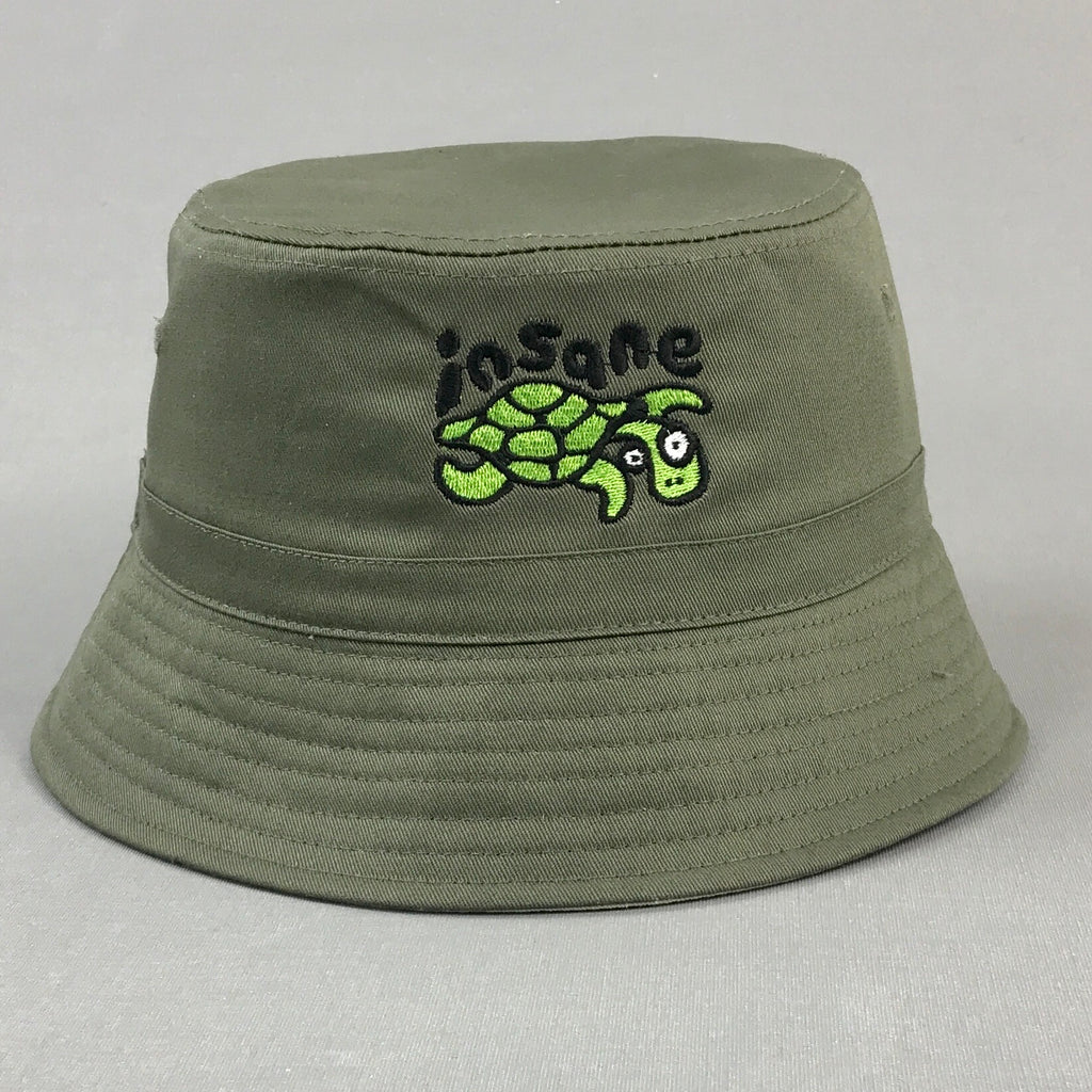 Insane Turtle Bucket Hat