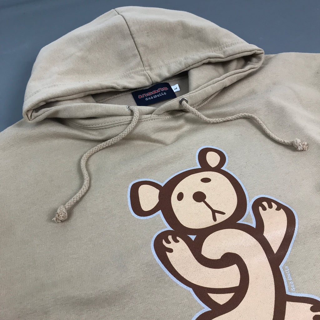 Insane Twisted Teddy Sand Hooded Sweat