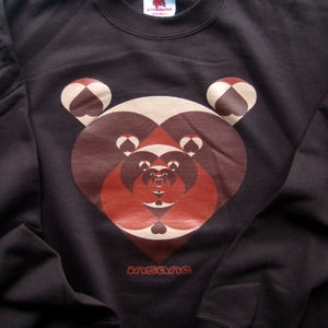 Tunnel of Love Bears, Brown Crew Sweat.