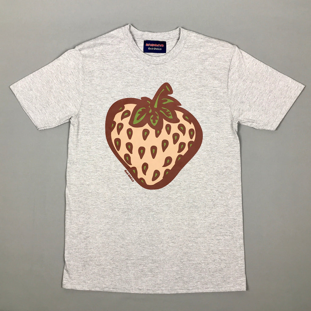Insane Strawberry Field Camo Grey T shirt.