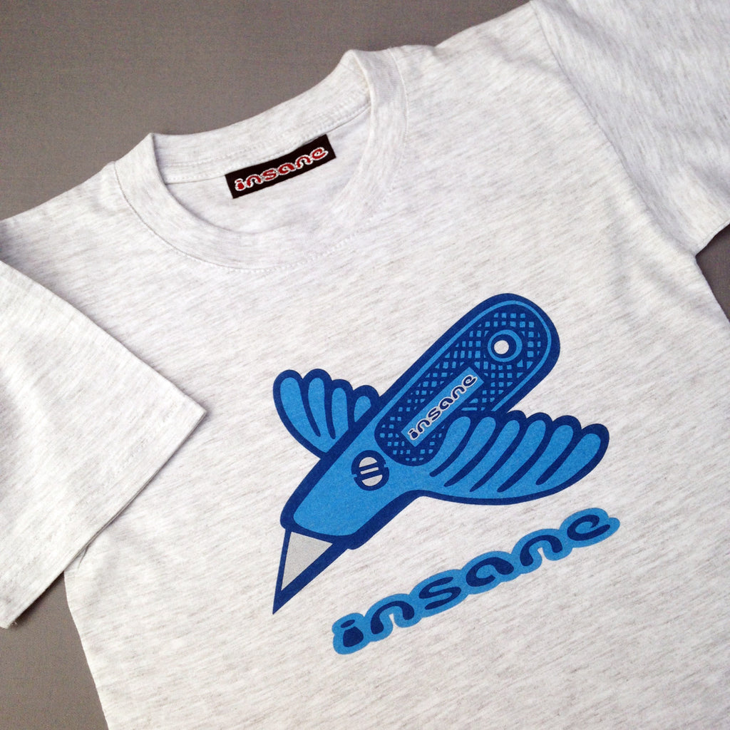 Insane Kids; Stanley Bird T Shirt.