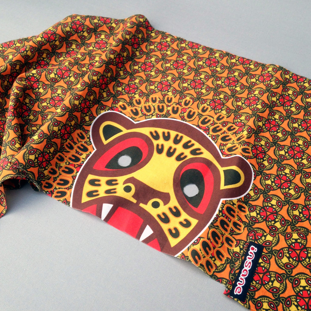 Insane Kids; Leopard Cub Bandana Mask.
