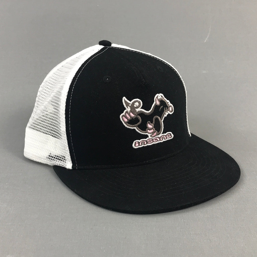 Insane Devil Mole Black/White Mesh Cap