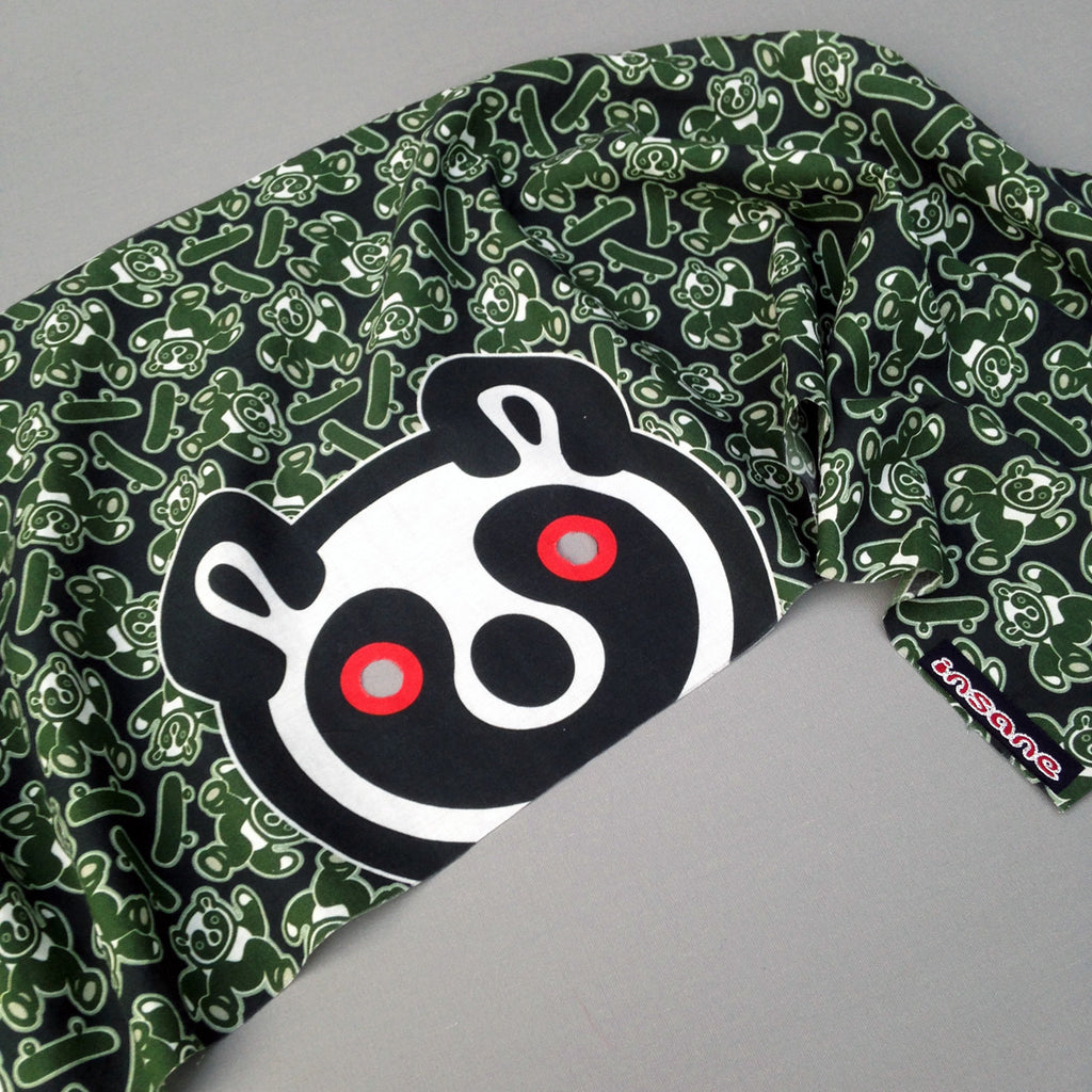 Insane Kids; Panda Face Bandana Mask.