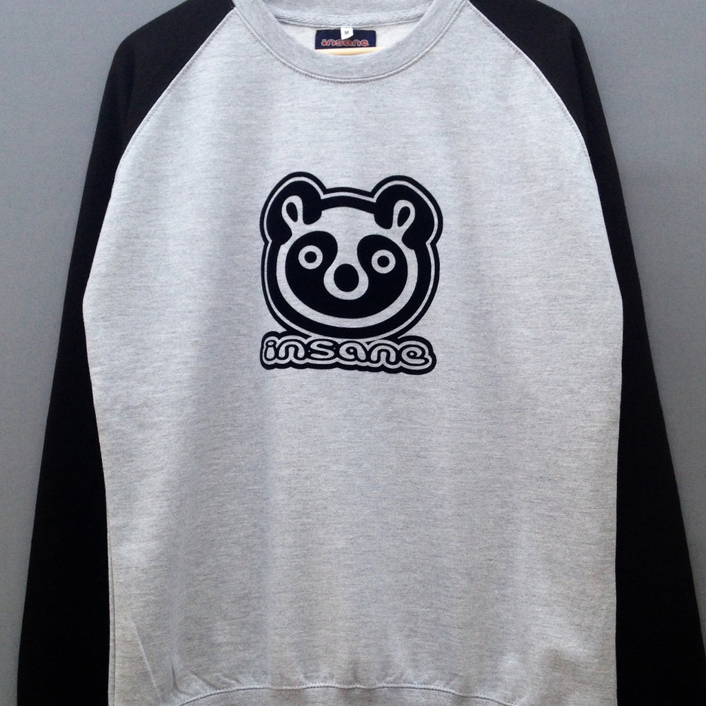 Panda Head Raglan Sweat