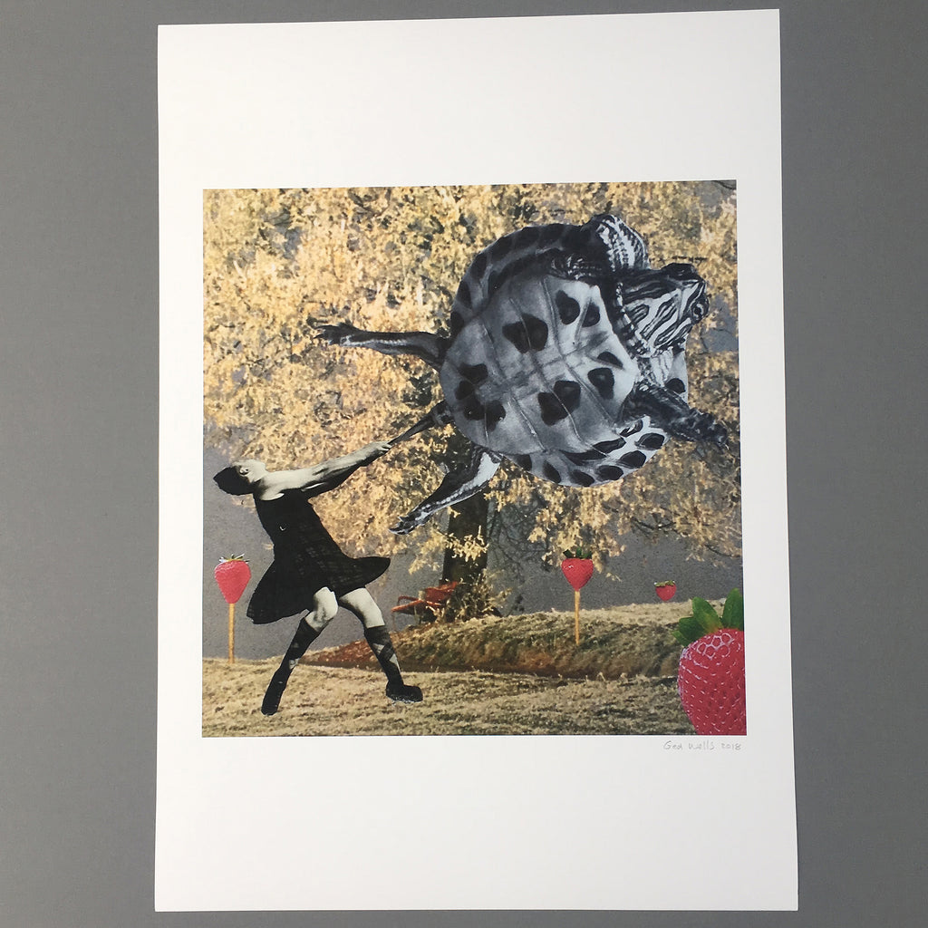 Turtle Clan Games, A2 Giclee Print