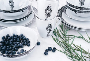 Harry Potter Voldemort's Death-Eater Dinnerware Now Available