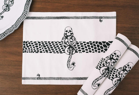 Harry Potter Voldemort Death Eater Placemats