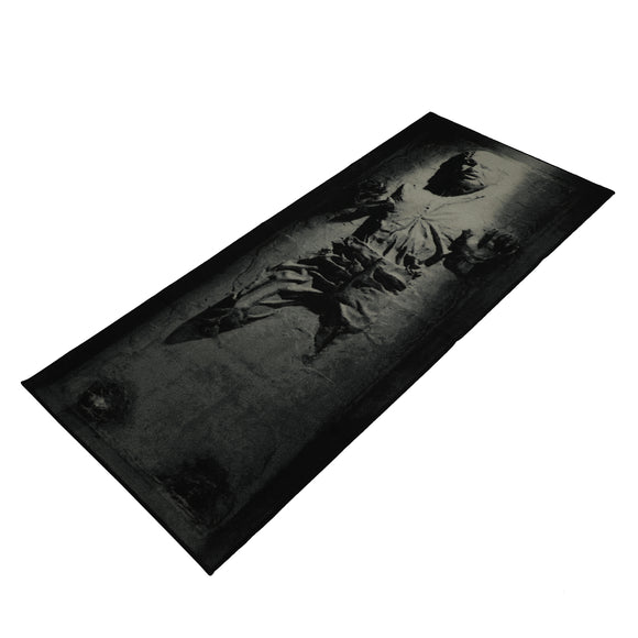 SW Silver Han Solo In Carbonite Rug