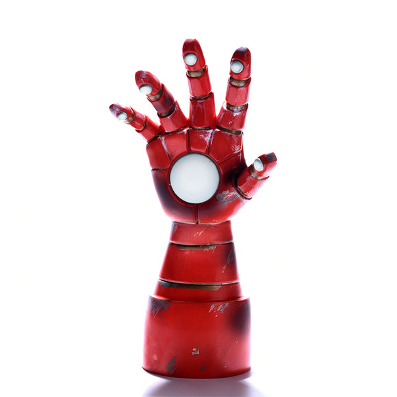 Marvel Iron Man Armored Hand 3D Desk Lamp