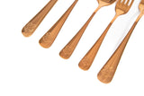 Harry Potter Hogwarts Rose Gold Flatware Set