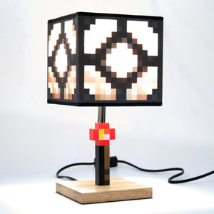 Minecraft Glowstone Desk Lamp