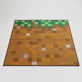 Minecraft Grass Block Rug