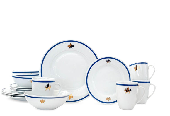 Star Trek: The Next Generation Delta Classic Dinnerware Set