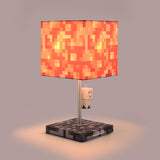 Minecraft Lava Block Lamp with Ghast Puller