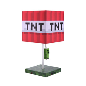 Minecraft Multi Creeper And TNT Block Yanker Desk Lamp 14""