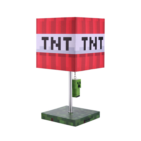 Minecraft Multi Creeper And TNT Block Yanker Desk Lamp 14