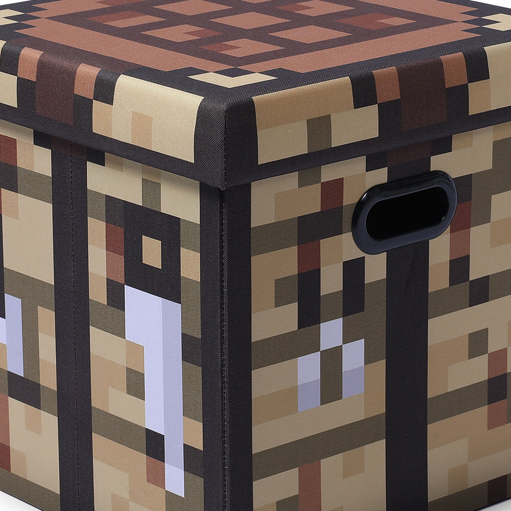 Minecraft Crafting Bench Storage Bin With Lid Ukonic