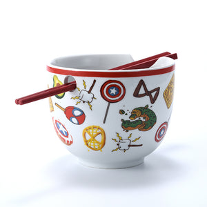 Marvel Eat The Universe Ramen Bowl with Chopsticks