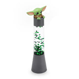 Star Wars Mandalorian The Child Green Glitter Motion Lamp