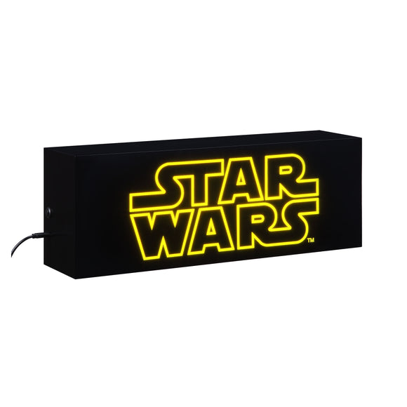 Star Wars Logo Premium Acrylic Light Box