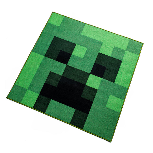 Minecraft Green Creeper Area Rug 39