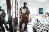 Star Wars: The Mandalorian Bounty Hunter Adult Onesie