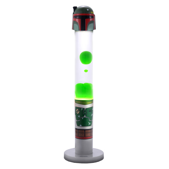 Star Wars Green Boba Fett 3D Top Motion Lamp