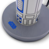 Star Wars White R2D2 3D Top Motion Lamp