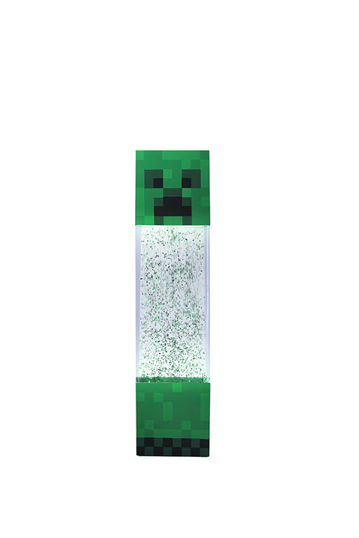Minecraft Green Creeper Move Glitter Light 12
