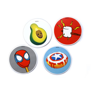 Marvel Eat The Universe 4-Piece Coaster Set