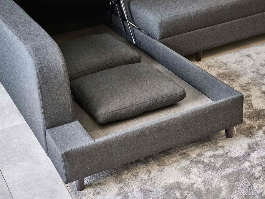 Biblio Three Seater Sofa Bed