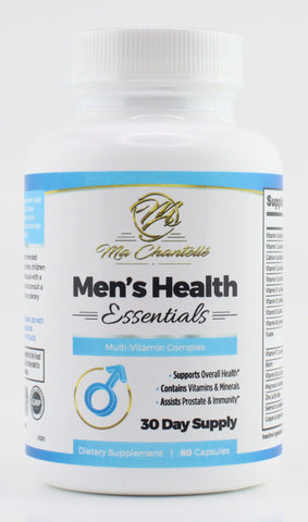Men's Health Essentials, Immunity & Prostate Support, Increased Energy, 60 Count