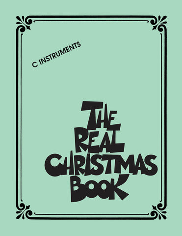 The Real Christmas Book - C Instruments, Second Ed.