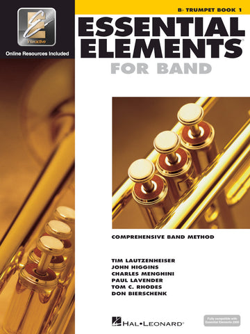 Essential Elements for Band - Bb Trumpet, Book 1