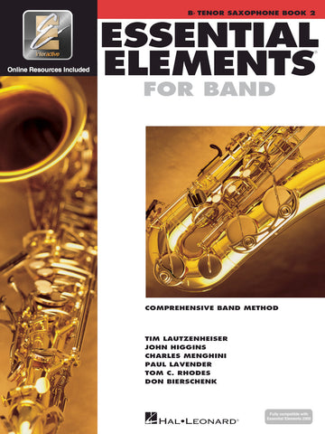 Essential Elements for Band - Bb Tenor Saxophone, Book 2
