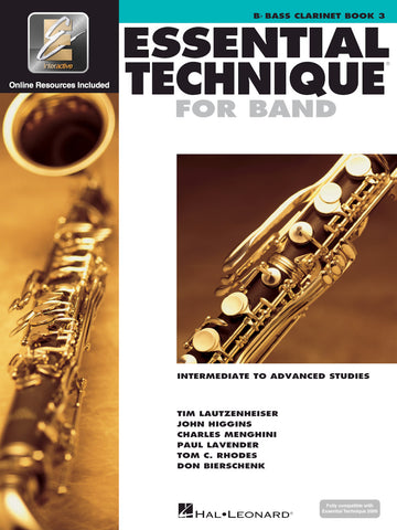 Essential Technique for Band - Bb Bass Clarinet, Book 3