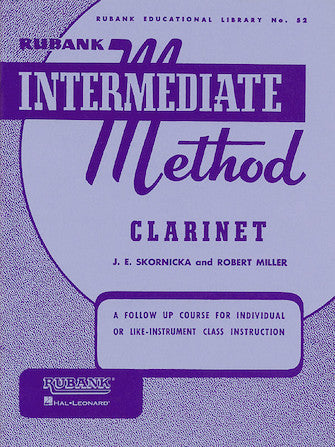 Rubank Intermediate Method 52 - Clarinet