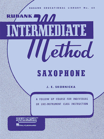 Rubank Intermediate Method 68 - Saxophone