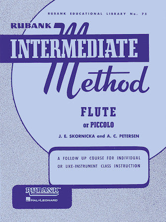 Rubank Intermediate Method 75 Fute or Piccolo