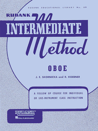 Rubank Intermediate Method 89 - Oboe