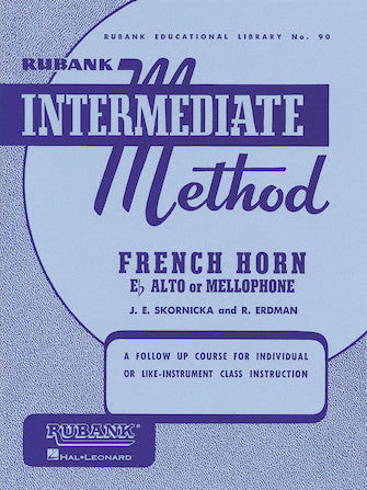 Rubank Intermediate Method 90 - French Horn