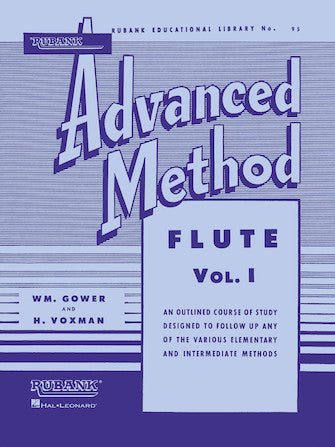 Rubank Advanced Method 95 - Flute or Piccolo Vol. I
