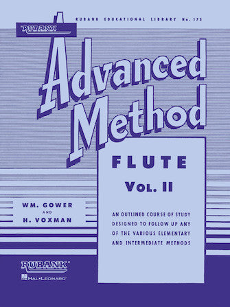 Rubank Advanced Method 175 - Flute or Piccolo Vol. II