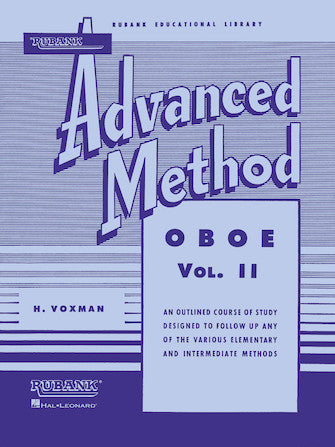 Rubank Advanced Method - Oboe Vol. II