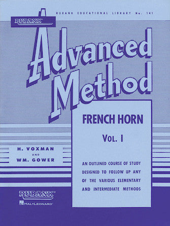 Rubank Advanced Method 141 - French Horn Vol. I